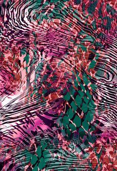 2016 Digital Pattern,Floral Design,Prints,Abstract,Textile,纹理,印花图案 - PT5092V1