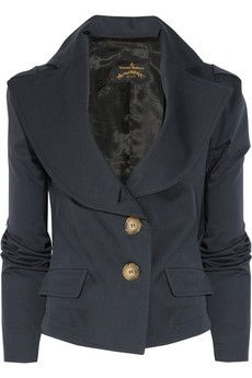 Vivienne Westwood Anglomania | Stretch-cotton jacket #fashion #designer #couture