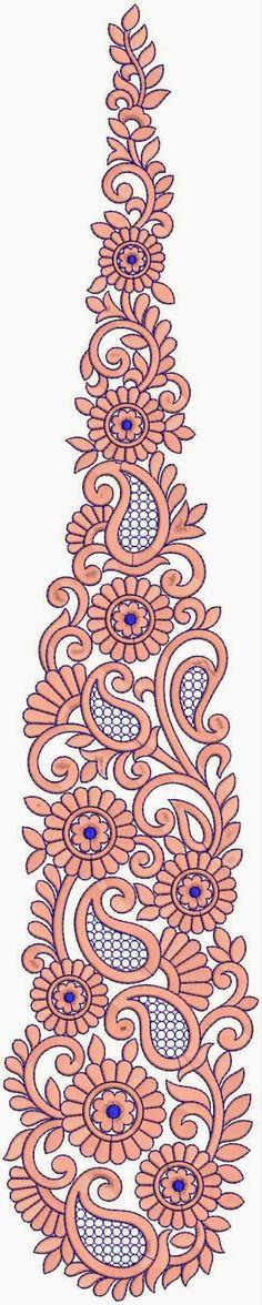 kuns borduurwerk quilt patroon