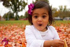 Pumpkins are Heavy! #Richmond #Little Girl #Child Portraits