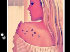Cute tattoo..want this in the same place