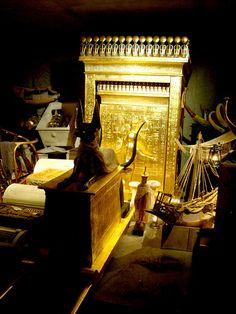 Second chamber from Tutankhamun´s tomb