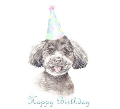 #Whatsapp a cute #birthday wish to a #doglover friend with this #puppy #ecard. #HappyBirthday #free #cards #greetings