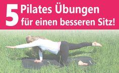 Reiter-Sitz: Pilates-Übungen