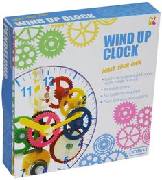 Full step by step instructions included to assist you making this fully functioning wind up clock. The clock even chimes! Suitable for 10 years and above. An educational and fun project ~ make your own real working clock. | eBay!