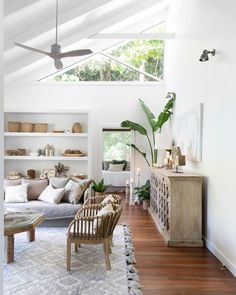 The living space totally encapsulates the clients brief and desires we were given. A blend of ethnic pieces we sourced… Boho Living Room, Home And Living, Living Spaces, Coastal Living, Hawaii Homes, Hawaii Condos, Indoor Outdoor, Outdoor Living, Beach House Decor