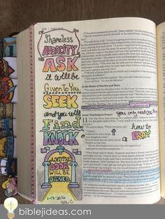 Fun ideas and techniques for Bible journaling. Let's learn together!