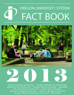 Fact book, by the Oregon University System