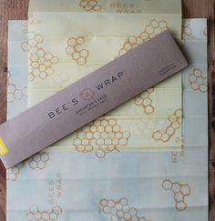 Bee's Wrap, reusable food storage wraps