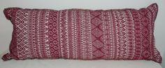 vintage Guatemalan woven textile pillow