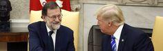 """Trump ante Rajoy: """"Quiero que España siga unida"""""""