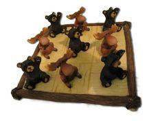 Bear and Moose Tic-Tac-Toe