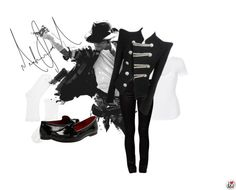 """""""A Michael Tribute"""" by fashionista-222-jlm on Polyvore"""