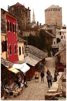 Mostar, Federacija Bosne I Hercegovine. I went to the former Yougoslavia but not here. but it's on my bucket list now.Mostar, Federacija Bosne I Hercegovine. I went to the former Yougoslavia but not here. but it's on my bucket list now. Oh The Places You'll Go, Places To Travel, Places To Visit, Saint Marin, Travel Around The World, Around The Worlds, Bósnia E Herzegovina, Les Balkans, Mostar Bosnia