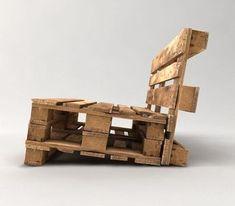 loungebank van pallets ook andere meubels van euro pallet tuinmeubelen. Black Bedroom Furniture Sets. Home Design Ideas