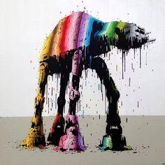 Die farbenfrohen Murals des Steet Artists Brusk  Der französische Street Artist Brusk verwendet sehr gerne knallbunte Farben, wenn er an einem seiner Bilder arbeitet. Das steht allerdings meist in...