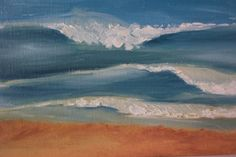 myrtle beach seascape paintings | Wave painting #MYRDreamVacation