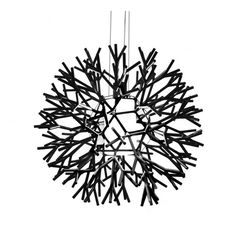 Replica Lagranja Group Coral Pendant in Black and White Z Two Lights