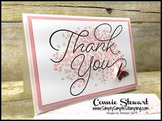 Make It Monday – Thank You Note Card & Envelope
