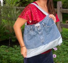 Going Green With Jeans...How to Recycle Your Jeans into Sewing Projects