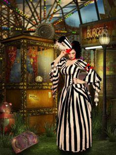 Circus Dame by Zoltan #VintageCircus