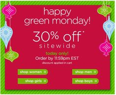 Crocs – Take 300ff EVERYTHING site wide, today only!
