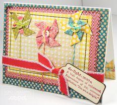 Secretbees Studio: Birthday Pinwheels!