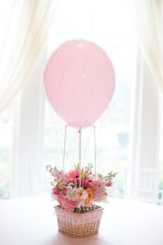 Carried Away Hot Air Balloon Birthday Party via Kara's Party Ideas KarasPartyIdeas.com #hotairballoonparty (35)