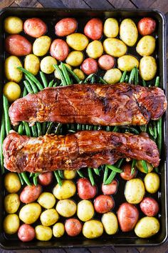 This Pork Tenderloin Recipe is a flavor packed easy sheet pan dinner. This is the Best Pork Tenderloin Recipe I have ever had! It is packed full of amazing flavor and makes for such an easy weeknight dinner! Best Pork Tenderloin Recipe, Healthy Pork Tenderloin Recipes, Pork Recipes, Cooking Recipes, Seafood Recipes, Pork Fillet, Pork Loin, Pork Ribs, Kitchen
