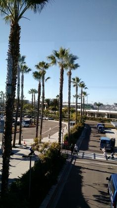 San Diego International Airport. From the skyway.