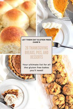 Gluten Free Pumpkin Pie, Gluten Free Cornbread, Gluten Free Thanksgiving, Thanksgiving Recipes, Thanksgiving Baking, Sweet Potato Souffle, Sweet Potato Biscuits, Gluten Free Cakes, Gluten Free Baking