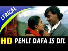 Pehli Dafa Is Dil Mein Bhi With Lyrics   Kumar Sanu, Alka Yagnik   Hulchul Songs  Kajol, Ajay Devgan - YouTube Anu Malik, Vinod Khanna, Kumar Sanu, Party Songs, Bollywood Party, Video Full, Lead Role, Romantic Songs, Hit Songs