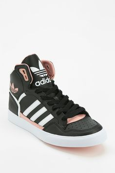adidas Extaball Leather High-Top Sneaker