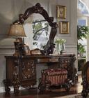 Brittany Cherry Oak Vanity Table Set | Luxury Vanity Set
