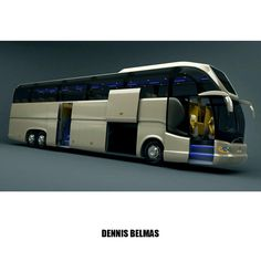 bus design render, coach
