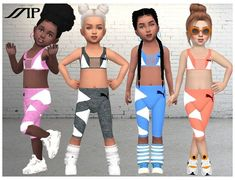 Toddler Cc Sims 4, Sims 4 Toddler Clothes, Sims 4 Cc Kids Clothing, Sims 4 Mods Clothes, Toddler Girl Outfits, Kids Outfits, Toddler Girls, Toddler Fashion, Sims 4 Outfits