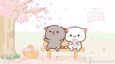 Dealing With Cat Allergies Cute Love Pictures, Cute Love Memes, Cute Love Gif, Cute Anime Cat, Cute Cat Gif, Cute Kawaii Animals, Kawaii Cat, Cute Bear Drawings, Kawaii Drawings