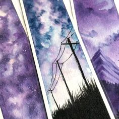Process Video (not a time lapse)Process video Source by artbysinchThere's nothing quite like watercolor painting. Beautiful, not what I was expectingDone on a spare piece of canvas panel, I just love this painting! Watercolor Techniques, Painting Techniques, Watercolor Video, Watercolour, Simple Watercolor, Watercolor Sunset, Watercolor Bookmarks, Watercolor Paintings, Art Sketches