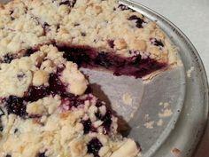 Huckleberry/Wonderberry pie on the inside! !