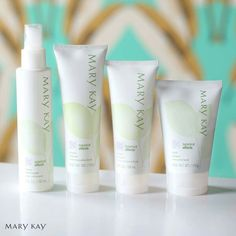 Your newest custom skin care collection is here with Mary Kay Botanical Effects Skin Care Four-PieceSet.
