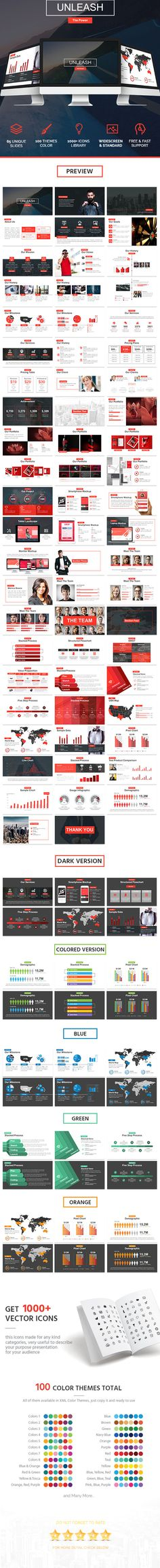 Unleash Powerpoint Template - Relase the Power!