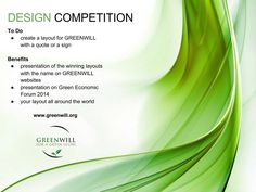Design Competitions, Presentation, Product Launch, How To Apply, Layout, Create, Green, Page Layout