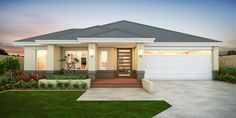 Search and compare new home designs in Victoria - Prices, Floorplans, Inclusions, Facades, Display Homes and more. Model House Plan, Dream House Plans, Home Building Design, Home Room Design, African House, Architectural House Plans, Exterior Paint Colors For House, Bungalow House Design, Contemporary House Plans