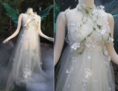 View the Costume Gallery Firefly Path has created for customers! Pretty Dresses, Beautiful Dresses, Faerie Costume, Fairy Costume Adult, Fantasias Halloween, Fairy Clothes, Fantasy Gowns, Fairy Dress, Fantasy Costumes