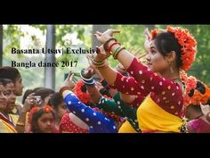 Basanta Utsav| Exclusive Bangla dance 2017 | Charukola| Dhaka University...