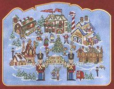 Buy Santa's North Pole Chart Online at www.sewandso.co.uk