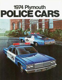 74 Plymouth Police Fleet
