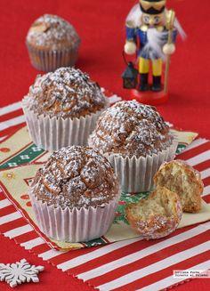 Te explicamos paso a paso, de manera sencilla, la elaboración del postre magdalenas de Navidad. Ingredientes, tiempo de elaboración