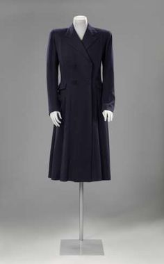 Mantel met visgraatmotief, Henriette Boudreau, ca. 1930 - ca. 1940 - Jas aan! Cover up! Mantels & jassen 1630-1940 - Tentoonstellingen – Nu te zien - Nu in het museum - Rijksmuseum