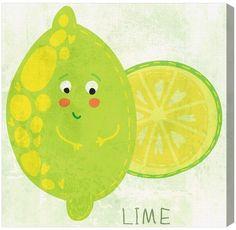 Olivia's Easel Mister Lime (Canvas)